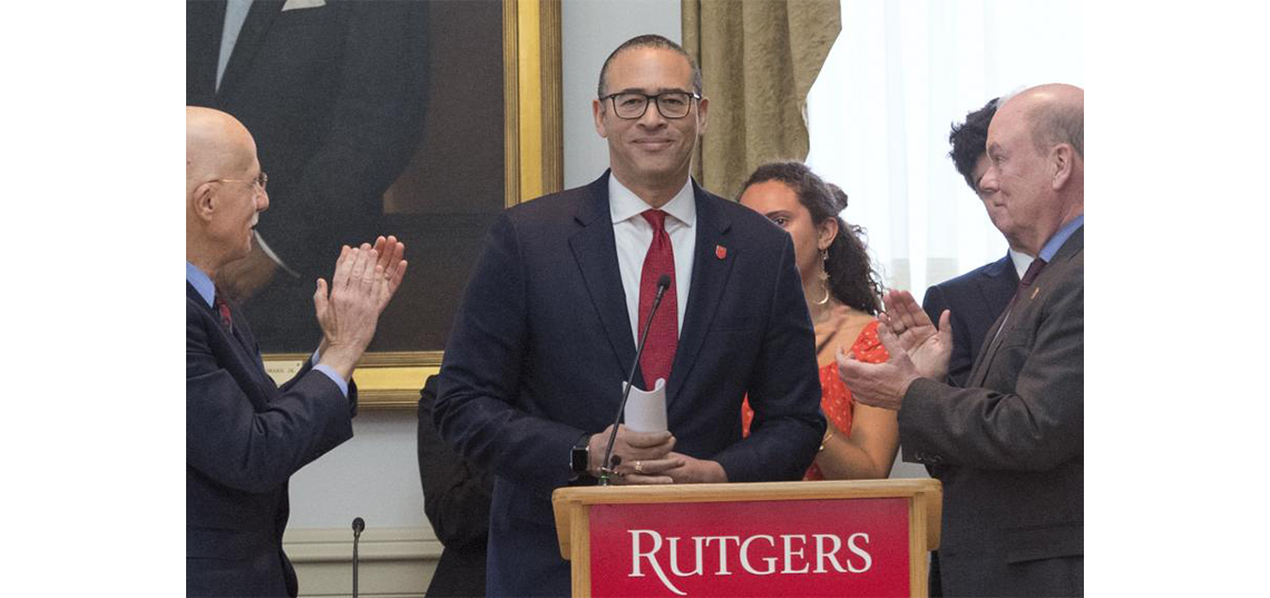 Rutgers names Jonathan S. Holloway the new president of the university.