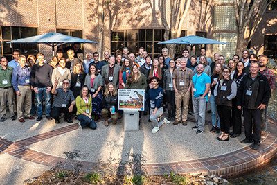 The enrote group at the Camera Trap Symposium