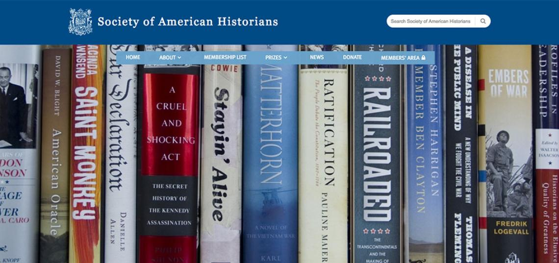 The Society of American Historians has elected Professor David Greenberg to its membership.
