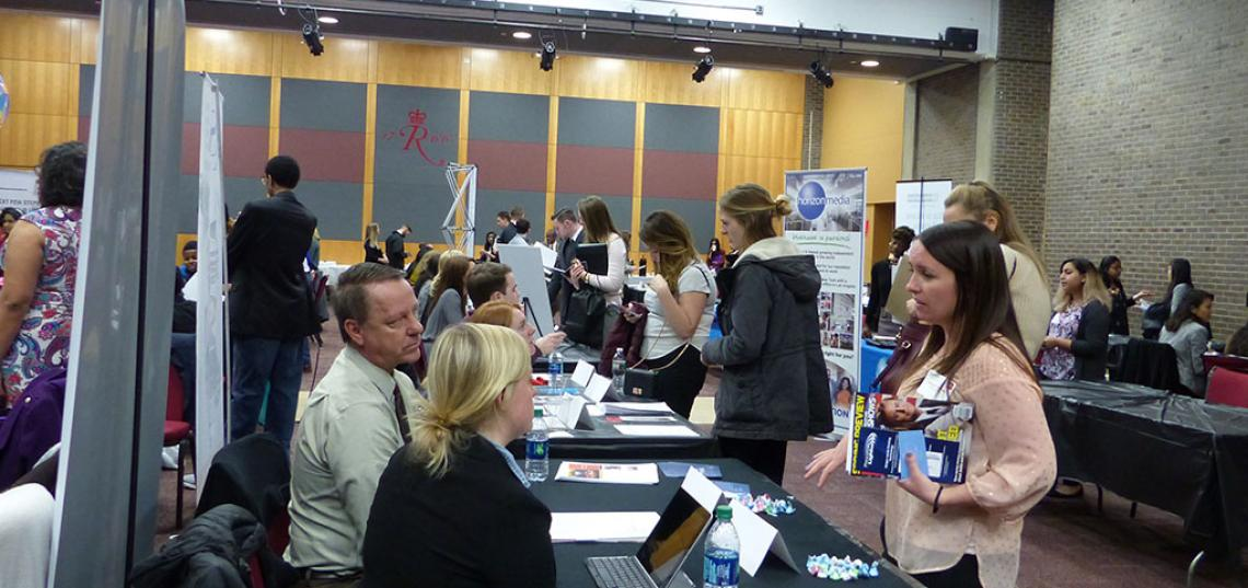Second Annual SC&I WIDE CAREER EXPO Grows in Both Student and Employer Attendance