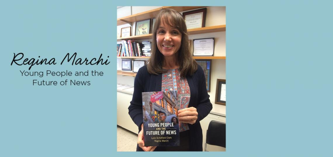 Regina Marchi's Book Wins Award from the Association of Internet Researchers