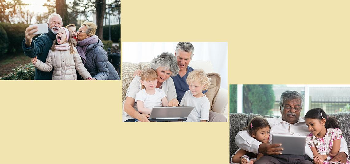Too Much Screen Time for the Kids? Grandparents May Also Be Complicit