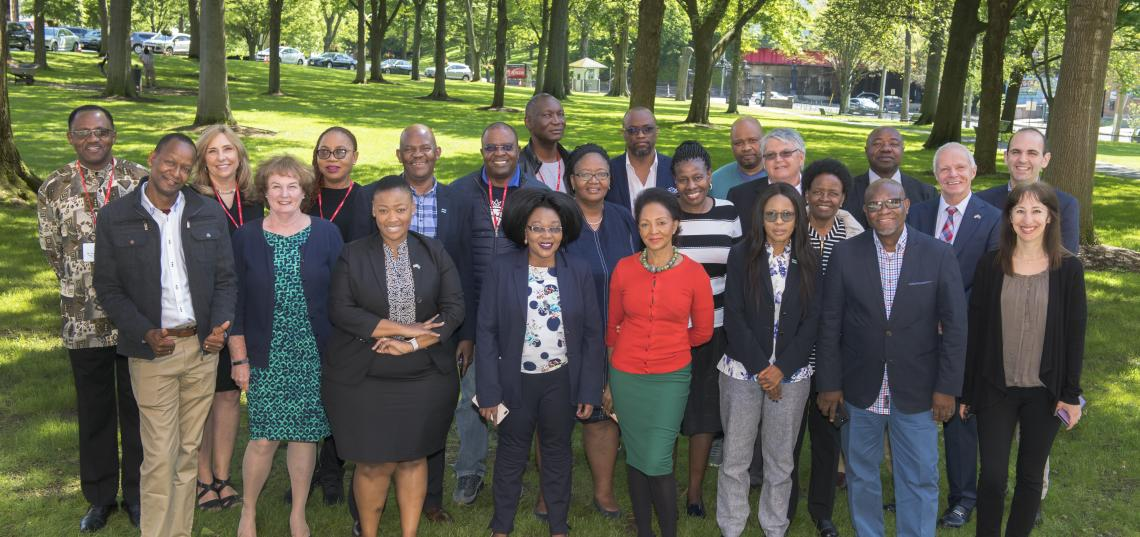 Botswana-Rutgers Leadership Summit Group Photo