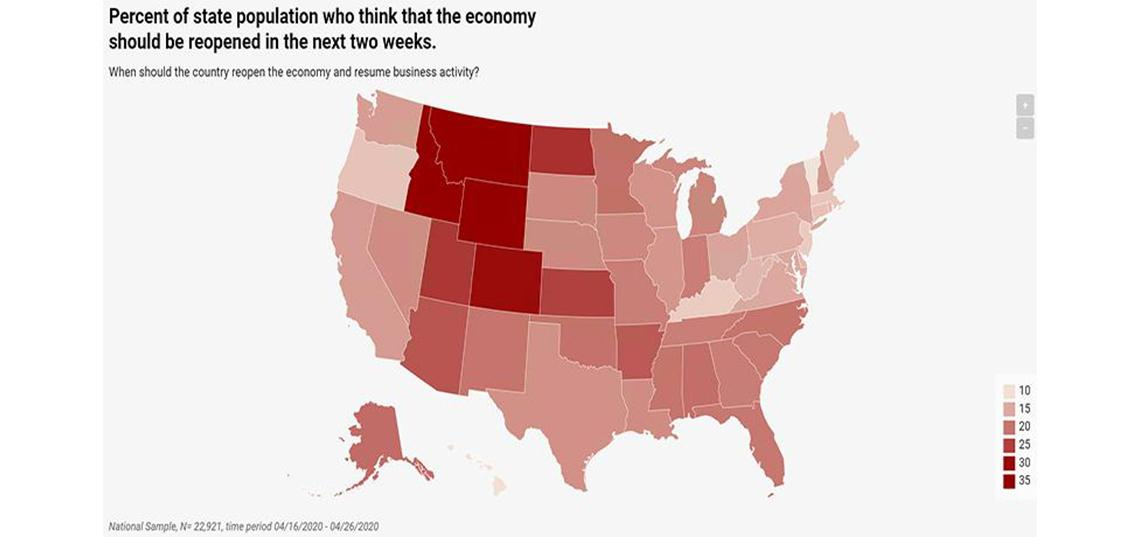 "New Survey Finds U.S. Public ""Firmly Opposed"" To Reopening Economy Immediately"