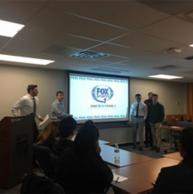 Fox Sports Partners with SC&I Class to Help Students Prepare for the Real World