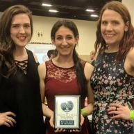 JMS Student Named National Association of Intercollegiate Gymnastics Clubs Female Athlete of the Year