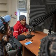Chenjerai Kumanyika, Producer and Co-Host of Peabody Award-Winning Podcast, Teaches Podcasting at SC&I