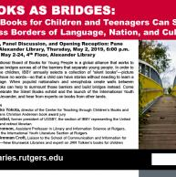 Books as Bridges: How Books for Children and Teenagers Can Speak Across Borders of Language, Nation, and Culture