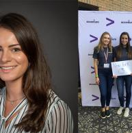 Maria Migliorino '20 Excels as a Summer Analyst at Accenture